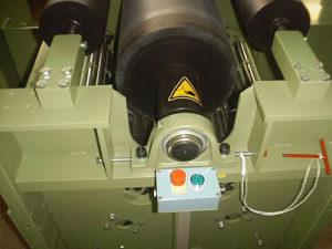 Flexzelle mit gummierter Flexwalze im Flexer Typ FCK