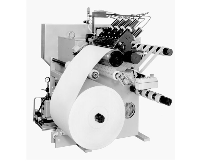 Roll slitter type RKK for narrow rolls
