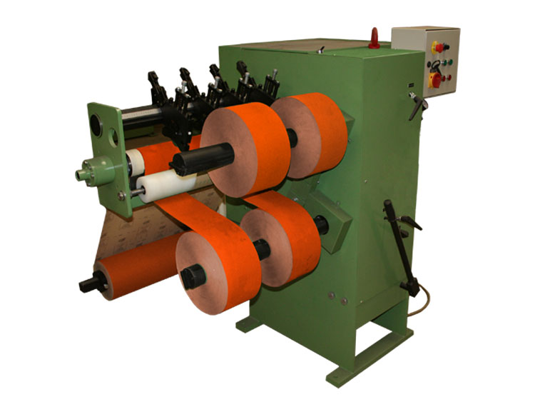 Roll slitter type RKZ for narrow rolls