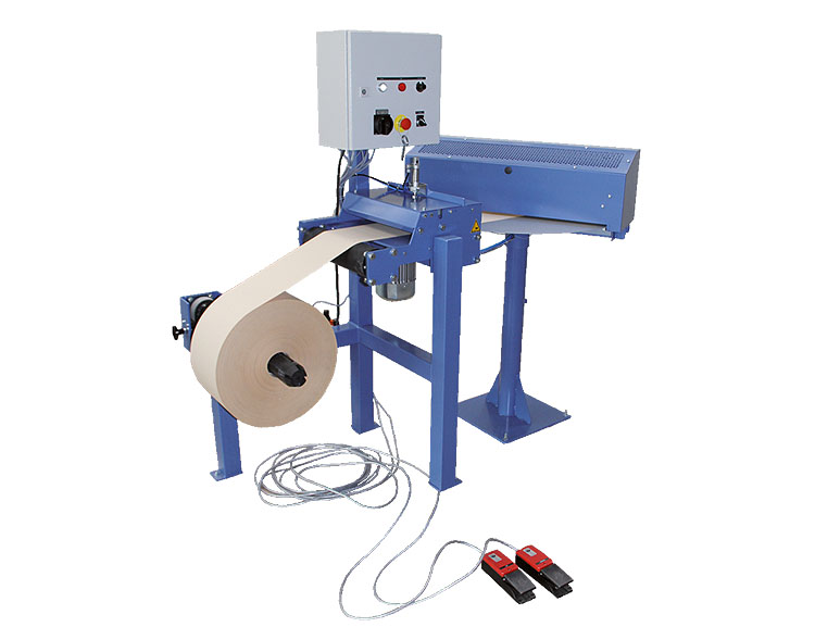 Cut-to-length machine type HTBP with unwind station