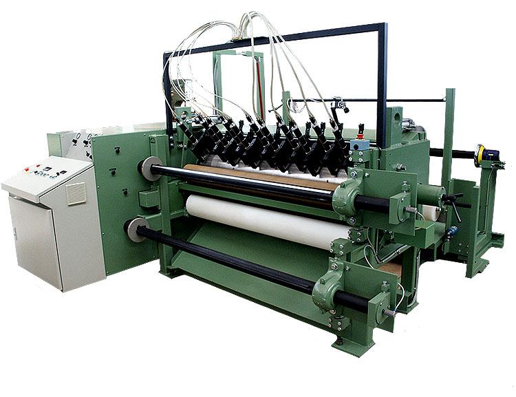Roll slitter type RSR for jumbo rolls