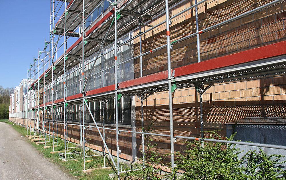 Sanierung der Gebäudehülle