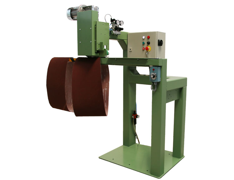 Roller press type RPC for fast production of narrow belts