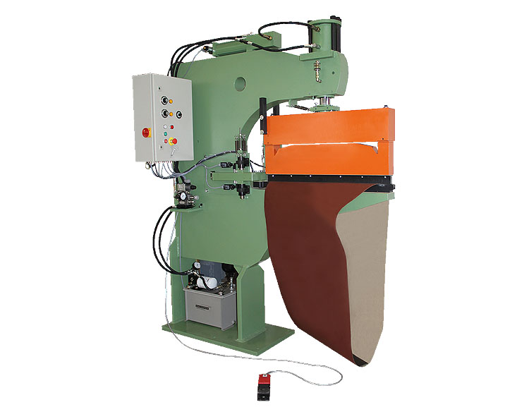 Hydraulic belt press type HP-40